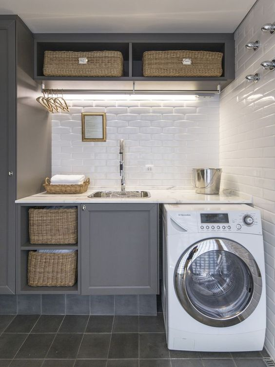 Small Laundry Room Ideas Part - 34: Small Laundry Room Ideas 1.d