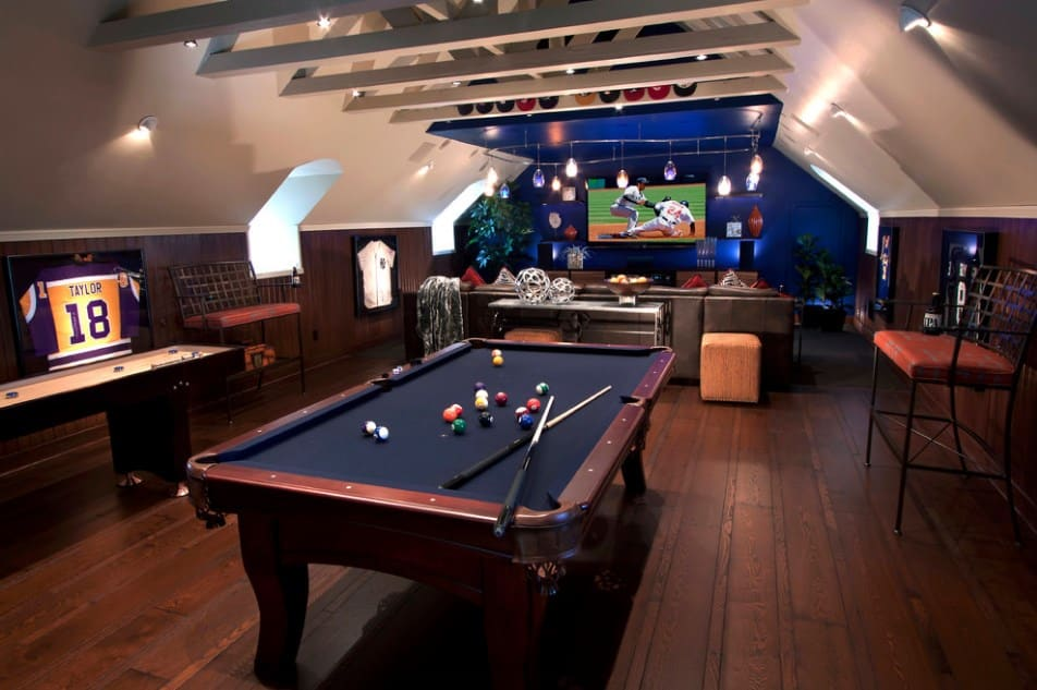 Epic Game Room Ideas That Will Make You A Winner - Home Ideas HQ