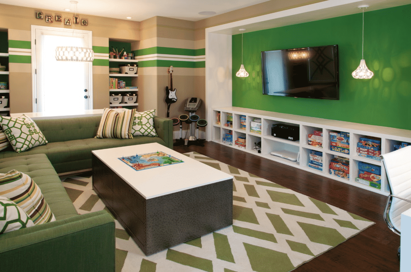 Cool TV Room Ideas For Kids