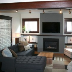 Furniture Placement For Long Narrow Living Room Gray And Teal How To Arrange Around Fireplace Tv: 6 Guides ...