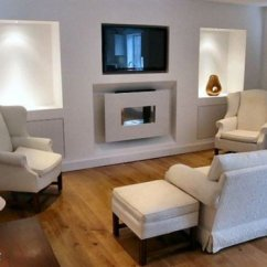 Living Room Furniture Arrangement Around A Tv Florida How To Arrange Fireplace And Tv: 6 Guides ...