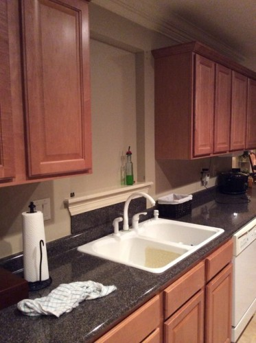 How To Decorate Wall Behind Kitchen Sink 5 Tips To Use  Home Improvement Day