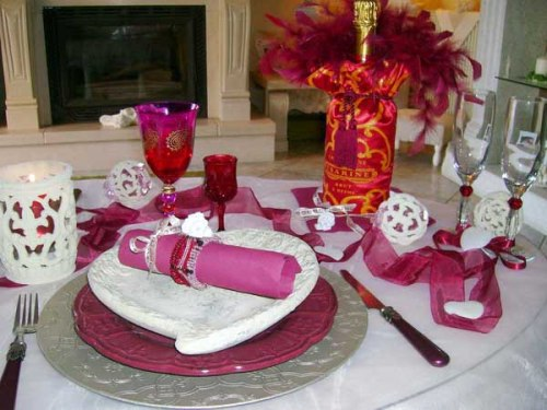 5 Ways To Create Inexpensive Valentines Day Table Decorations Home Improvement Day