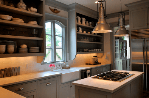 How To Decorate Kitchen Cabinets Without Doors 5 Tips For