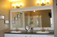 How To Decorate A Large Plain Bathroom Mirror: 5 Ideas For ...