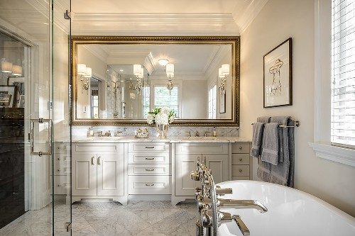 How To Decorate A Large Bathroom Mirror 5 Guides To Note Home Improvement Day