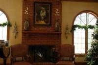 How To Decorate A Red Brick Fireplace Mantel: 5 Ways For ...