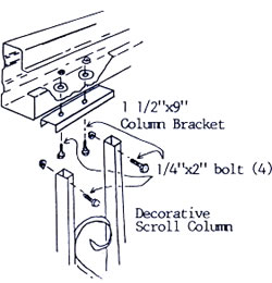 Beam and Post Attachment