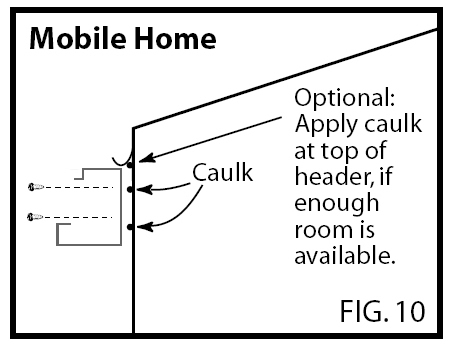 Double aluminum attached Carport Installation Instructions