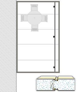 ROOF ONLY 12' x 20' Insulated kit