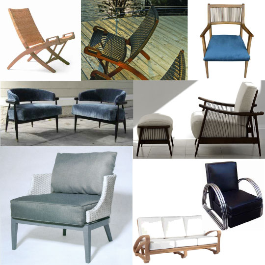 inspiration board - outdoor furniture