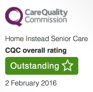 Home Instead Senior Care  First Outstanding CQC rating in