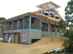 This house was framed with Steel studs