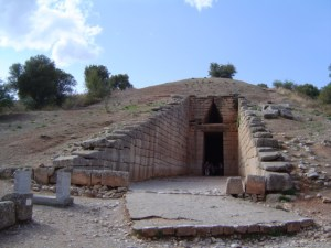 """The Tomb known as the """"Treasure of Atreus"""" inspired Johnson"""