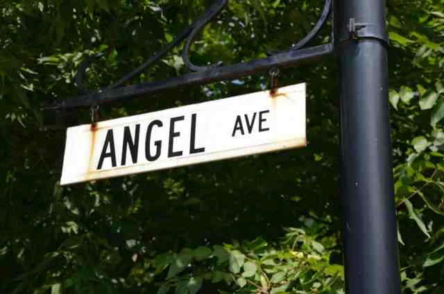 Seneca Falls, NY, Angel Ave.