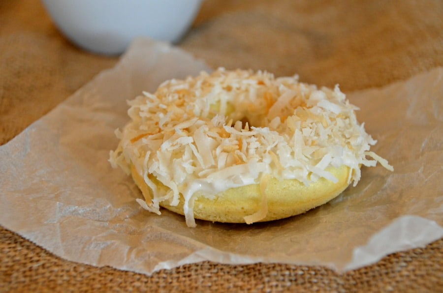 Baked Coconut Donuts for coconut lovers