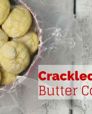 Crackled Butter Cookies