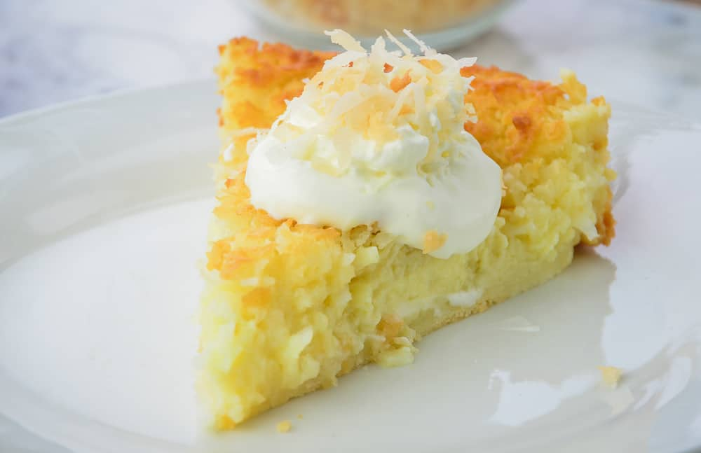 Impossible Cake Coconut