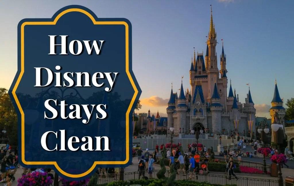 How Disney Stays Clean