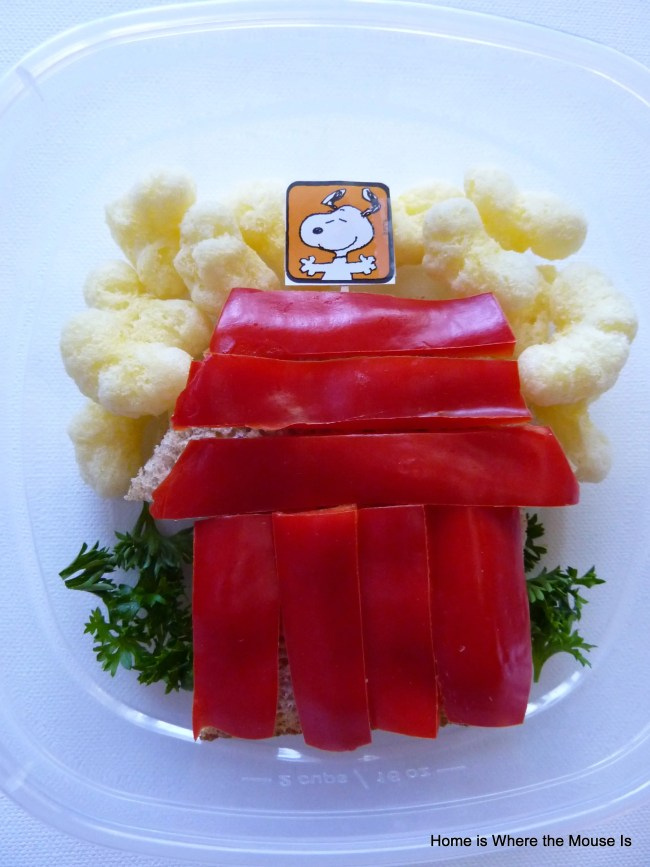 Snoopy Themed Lunch