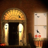 Halloween Door Decor: Enter If You Dare : HomeJelly