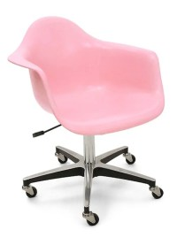 Reupholstered Rolling Office Chairs Are Really Cherry ...