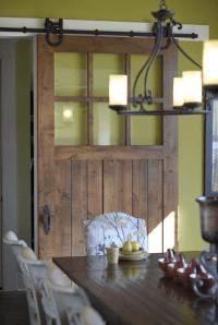 Doors Become Spectacular With Barn Door Hardware   HomeJelly