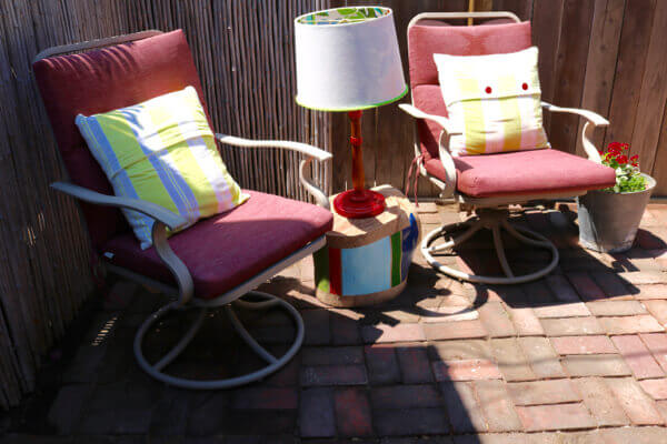 Vintage Patio Set Pick Me Up In Time For Fall Homejelly