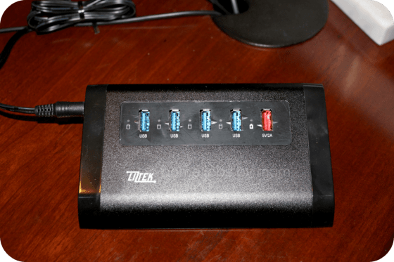 Liztek 4-Port USB Hub with 1 Charger Port Review