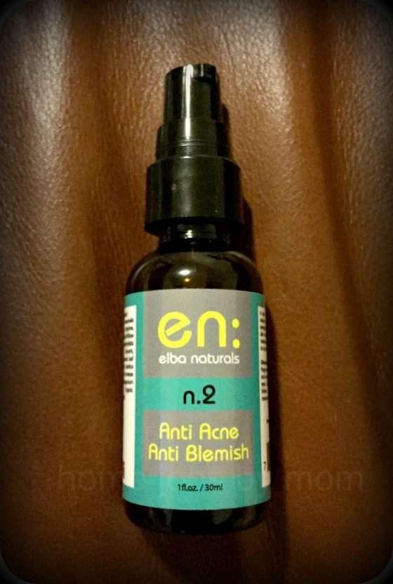 #ElbaNaturals Anti Acne/Anti Blemish Gel Review