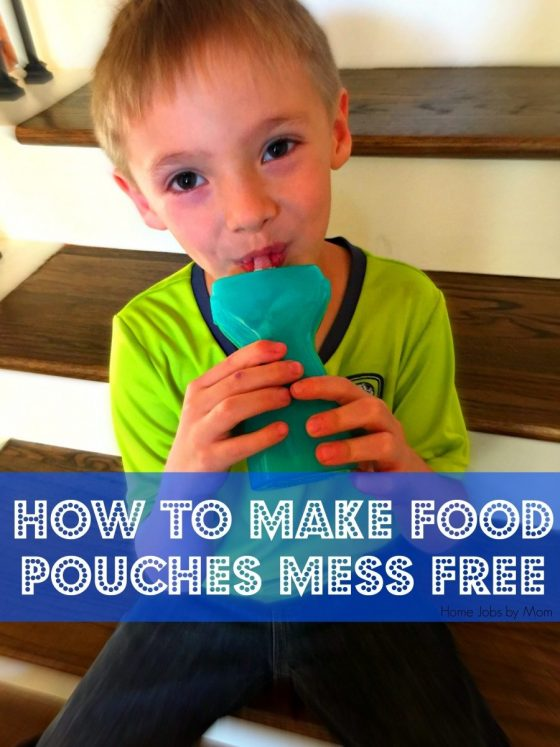 How to Make Food Pouches Mess Free