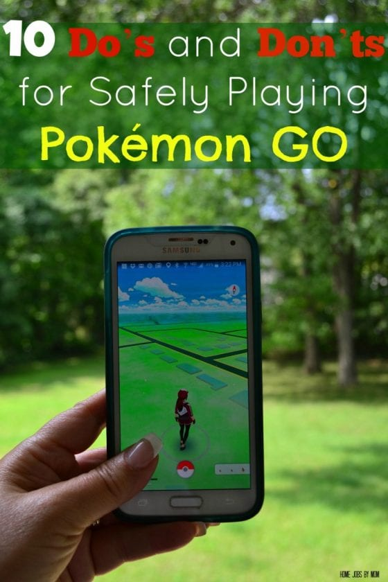 10 Do's and Don'ts for Safely Playing Pokémon GO