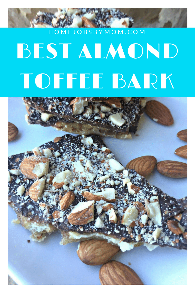 Best Almond Toffee Bark
