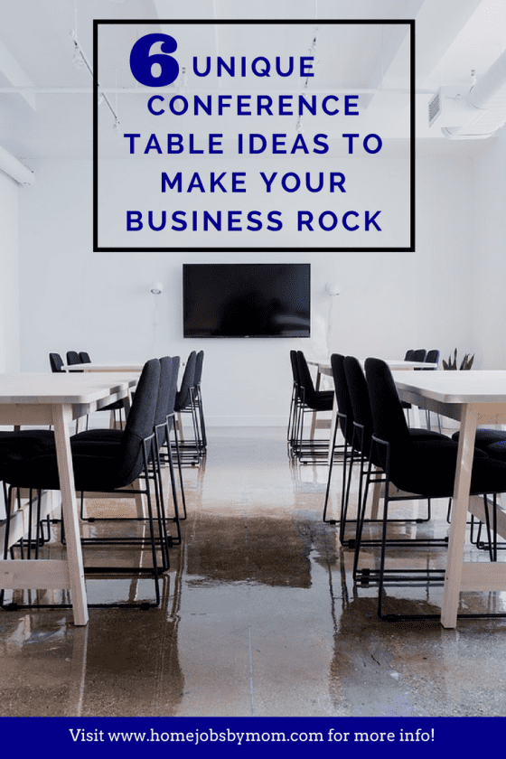 6 Unique Conference Table Ideas To Make Your Business Rock