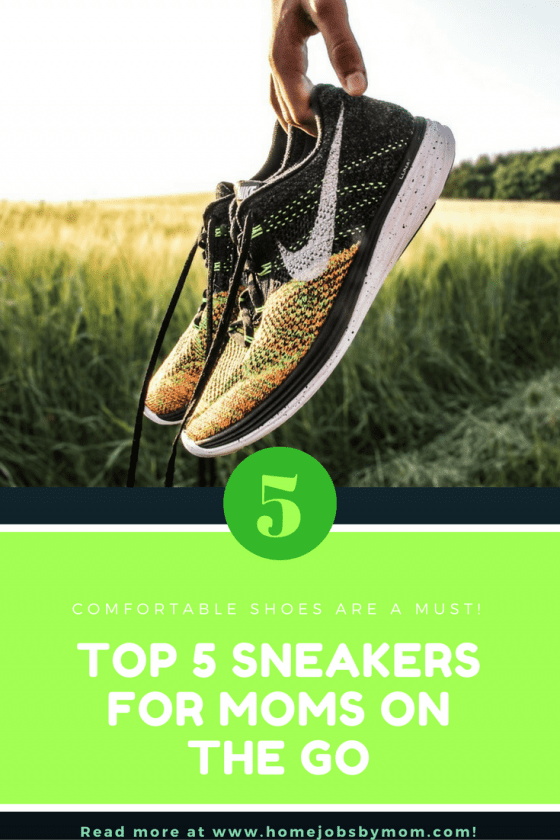 Top 5 Sneakers for Moms on The Go