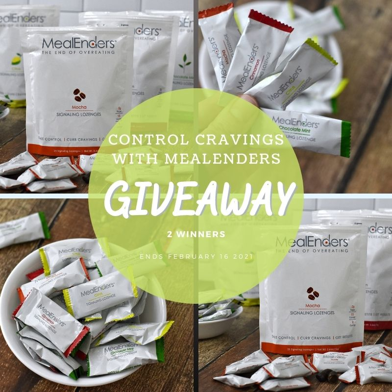 Control Cravings With MealEnders Giveaway