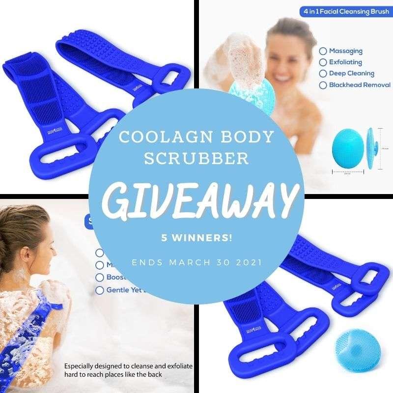COOLAGN Body Scrubber