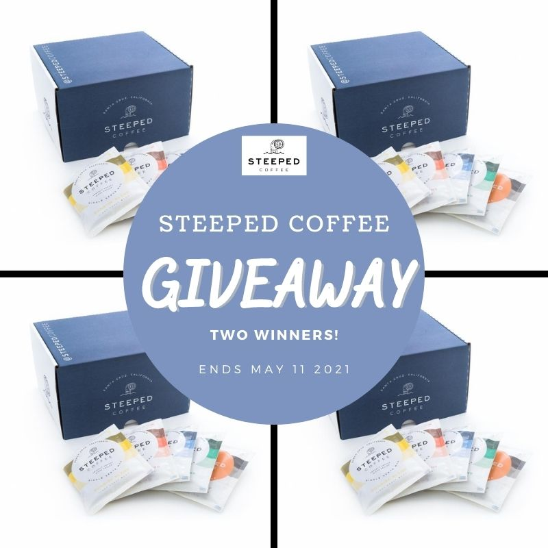 30 Pack Box of Steeped Coffee