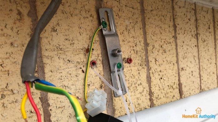 Netatmo Presence wiring