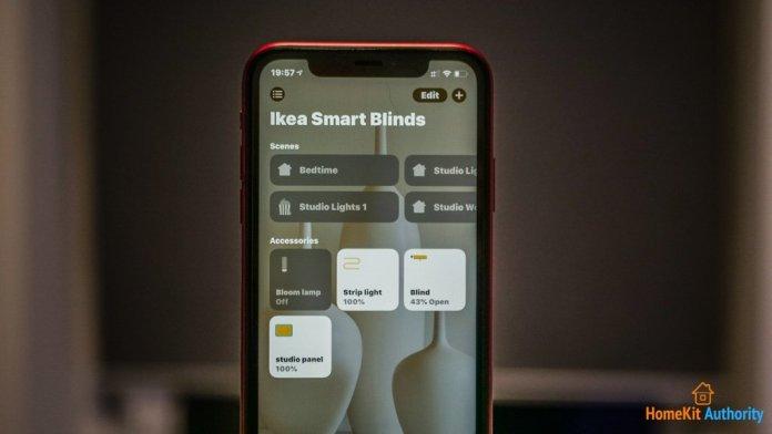 Ikea smart blinds HomeKit