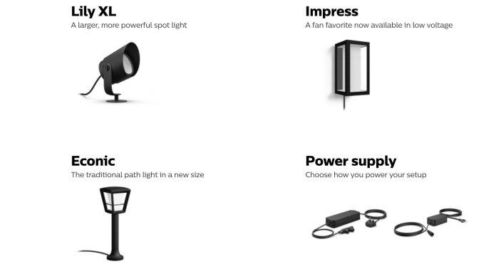 Philips Hue low voltage