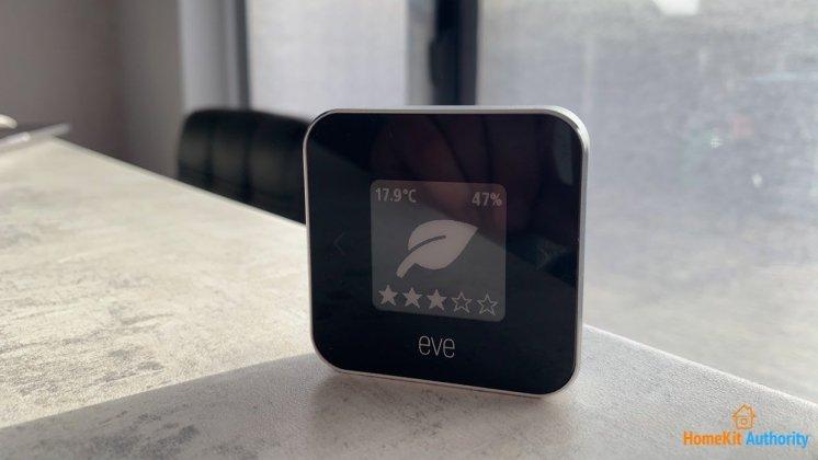 Eve room air quality