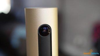 Netatmo smart indoor camera lens