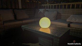 Eve Flare outside