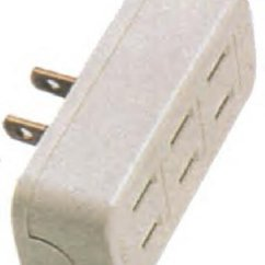3 Way Outlet Trane Cgam Chiller Wiring Diagram Plug Adapter Beige 794b Homelectrical Com