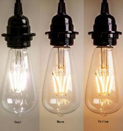 edison bulb color temperature chart [ 1000 x 1000 Pixel ]