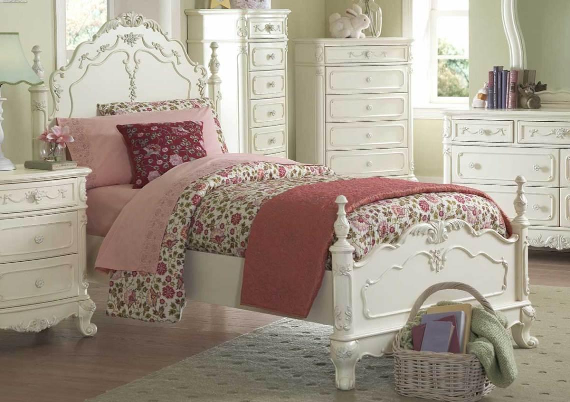 Homelegance Cinderella Bedroom Collection Ecru