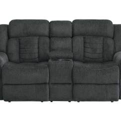 Charcoal Gray Sofa Sets Augustine Convertible Bed Chaise Moon Grey Homelegance Nutmeg Reclining Set