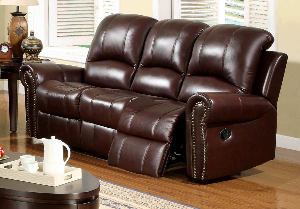 italian leather recliner sofa set patio sofas lowes abbyson living broadway 2 pc reclining
