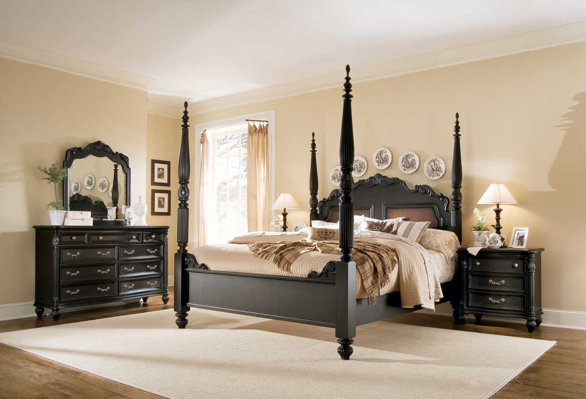 American Drew Versailles Poster Bedroom Collection B381375R at Homelementcom